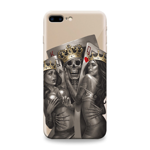 Slika od Futrola ULTRA TANKI PRINT CLEAR za Iphone 7 Plus/8 Plus ND0109