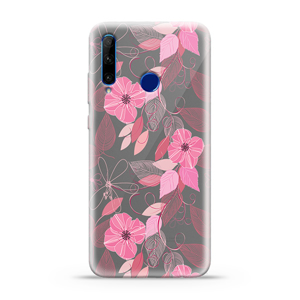 Slika od Futrola ULTRA TANKI PRINT CLEAR za Huawei Honor 20 Lite ND0094