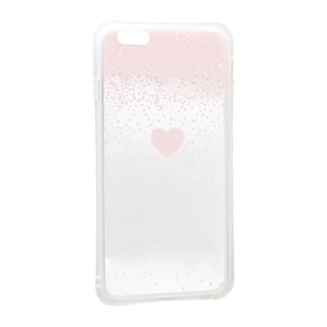 Slika od Futrola Sparkling heart za Iphone 6 Plus roze