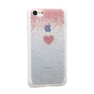 Slika od Futrola Sparkling heart za Iphone 7/8 roze