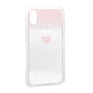 Slika od Futrola Sparkling heart za Iphone XR roze
