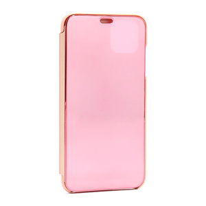 Slika od Futrola BI FOLD CLEAR VIEW za Iphone 11 Pro Max roze
