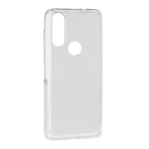 Slika od Futrola ULTRA TANKI PROTECT silikon za Motorola One Action providna (bela)