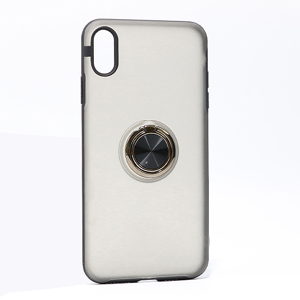 Slika od Futrola MAGNETIC RING MATTE za Iphone XS Max crna