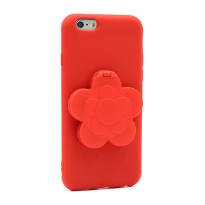 Slika od Futrola Flower Mirror za Iphone 6G/6S crvena