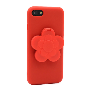 Slika od Futrola Flower Mirror za Iphone 7/8 crvena