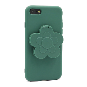 Slika od Futrola Flower Mirror za Iphone 7/8 zelena