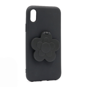Slika od Futrola Flower Mirror za Iphone XR crna