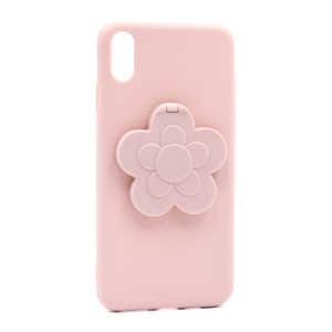 Slika od Futrola Flower Mirror za Iphone XS Max roze