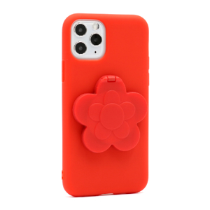 Slika od Futrola Flower Mirror za Iphone 11 Pro crvena