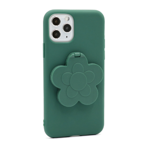 Slika od Futrola Flower Mirror za Iphone 11 Pro zelena