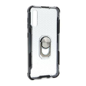 Slika od Futrola DEFENDER RING CLEAR za Samsung A307F/A505F/A507F Galaxy A30s/A50/A50s crna