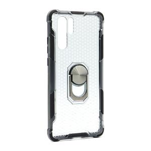 Slika od Futrola DEFENDER RING CLEAR za Huawei P30 Pro crna
