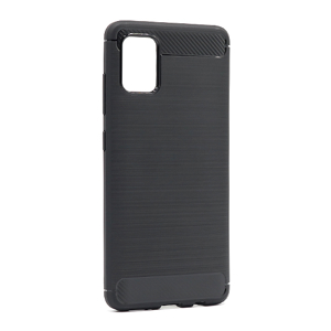 Slika od Futrola silikon BRUSHED za Samsung A515F Galaxy A51 crna