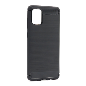 Slika od Futrola silikon BRUSHED za Samsung A715F Galaxy A71 crna