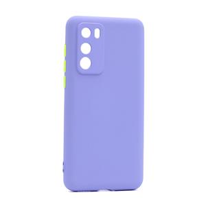 Slika od Futrola COLORFUL BUTTON za Huawei P40 ljubicasta