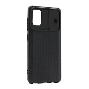 Slika od Futrola silikon Cam Shield za Samsung A415F Galaxy A41 crna