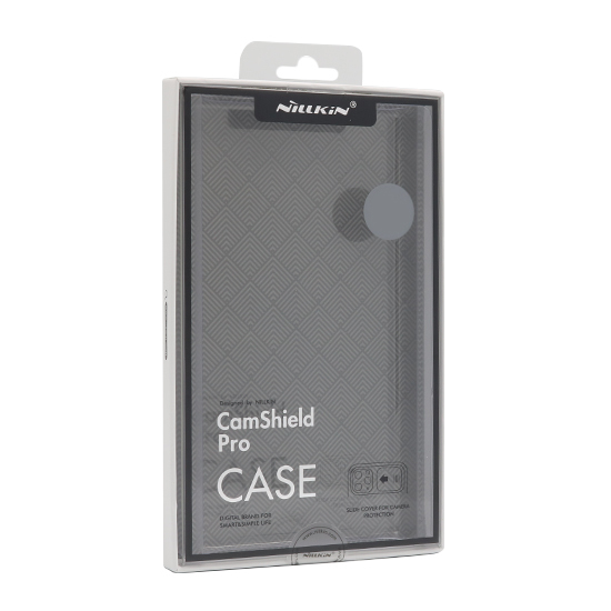 Slika od Futrola Nillkin Cam shield pro za Iphone 12 crna