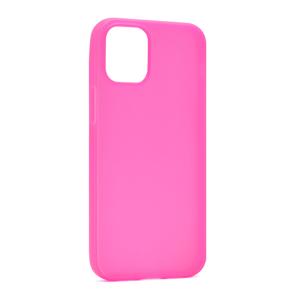 Slika od Futrola ULTRA TANKI KOLOR za Iphone 12 Mini (5.4) pink