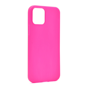 Slika od Futrola ULTRA TANKI KOLOR za Iphone 12/12 Pro (6.1) pink