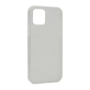Slika od Futrola silikon GLITTER SHOW YOURSELF za Iphone 12/12 Pro (6.1) srebrna