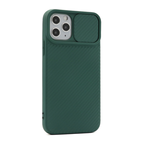 Slika od Futrola Cam Shield colorful za Iphone 11 Pro tamno zelena