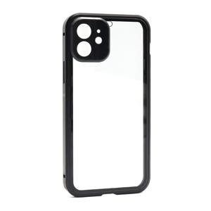 Slika od Futrola Full Cover magnetic frame za Iphone 12 Mini (5.4) model 1 crna