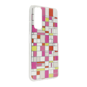 Slika od Futrola Fashion Mosaic za Huawei P Smart 2021/Y7a DZ04