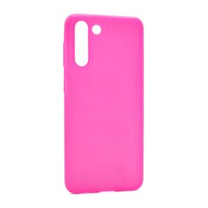 Slika od Futrola ULTRA TANKI KOLOR za Samsung G991F Galaxy S30/S21 roze