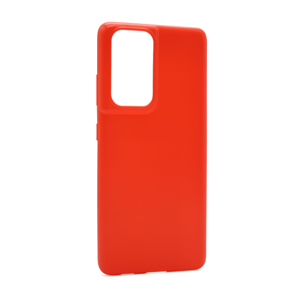 Slika od Futrola ULTRA TANKI KOLOR za Samsung G998F Galaxy S30 Ultra/S21 Ultra crvena