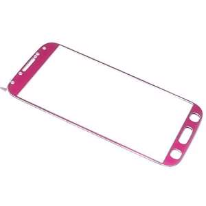 Slika od Folija za zastitu ekrana GLASS COLOR za Samsung I9500 Galaxy S4 pink