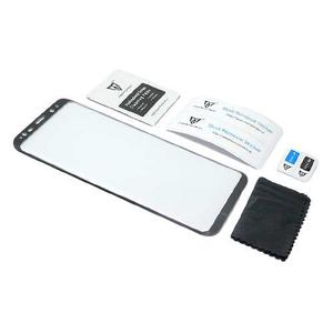 Slika od Folija za zastitu ekrana GLASS MONSTERSKIN 3D za Samsung G955F Galaxy S8 Plus crna