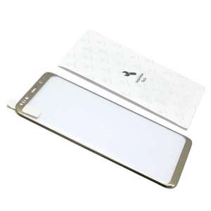 Slika od Folija za zastitu ekrana GLASS BASEUS ARC za Samsung G955F Galaxy S8 Plus zlatna 3D