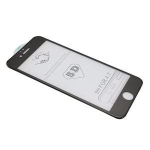 Slika od Folija za zastitu ekrana GLASS 5D za Iphone 6G/6S crna