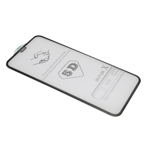 Slika od Folija za zastitu ekrana GLASS 5D za Iphone X/XS crna
