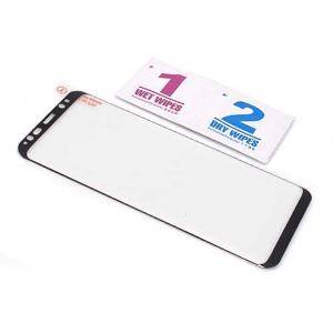 Slika od Folija za zastitu ekrana GLASS 3D FULL GLUE NT za Samsung G950F Galaxy S8 zakrivljena crna
