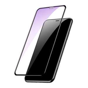 Slika od Folija za zastitu ekrana GLASS BASEUS ARC za Iphone XR crna 3D