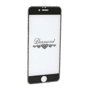 Slika od Folija za zastitu ekrana GLASS 5D DIAMOND za Iphone 6G/6S crna