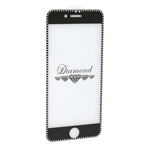 Slika od Folija za zastitu ekrana GLASS 5D DIAMOND za Iphone 7/8 crna