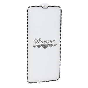 Slika od Folija za zastitu ekrana GLASS 5D DIAMOND za Iphone X/XS/11 Pro crna