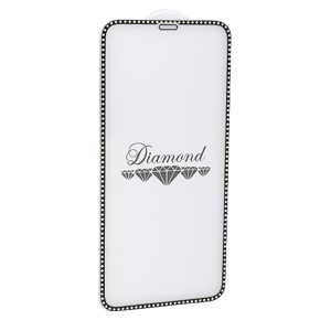 Slika od Folija za zastitu ekrana GLASS 5D DIAMOND za Iphone XR/11 crna