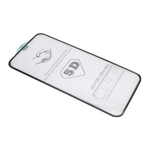 Slika od Folija za zastitu ekrana GLASS 5D za Iphone 12 Pro Max (6.7) crna