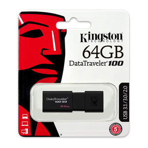 Slika od USB Flash memorija Kingston 64GB 3.0 DT100G3