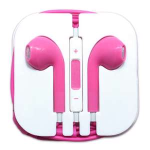 Slika od Slusalice za Iphone 3.5mm pink