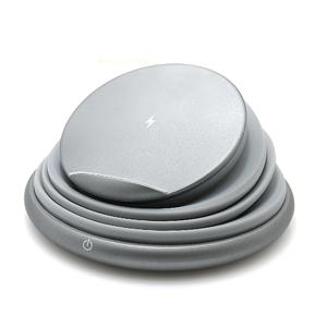 Slika od Bezicni punjac (Wi-Fi) sa led svetlom sivi