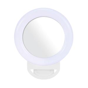 Slika od Selfie ring portable A4s RGB sa ogledalom beli