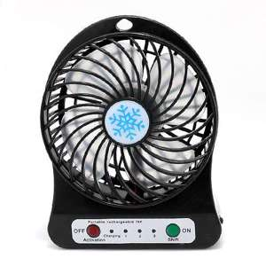 Slika od Ventilator Portable mini crni