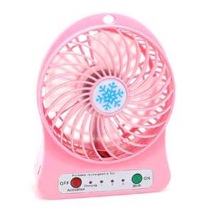 Slika od Ventilator Portable mini roze
