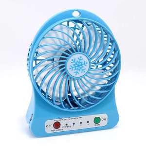 Slika od Ventilator Portable mini plavi