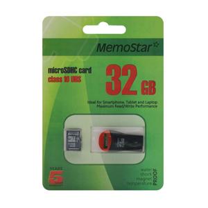 Slika od Memorijska kartica MemoStar Micro SD 32GB Class 10 UHS + USB citac